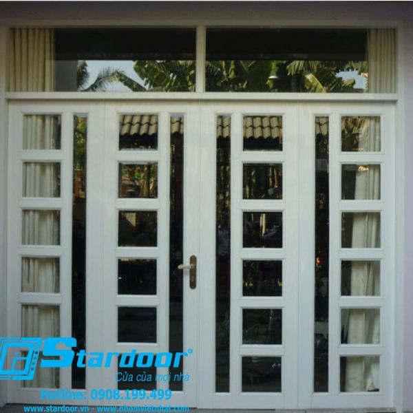 mẫu cửa nhôm kính chống ồn